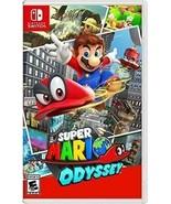 Super Mario Odyssey - Nintendo Switch - $44.99