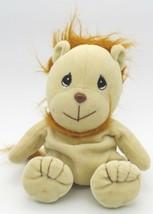 "Precious Moments TENDER TAILS Lion Beanbag Plush Stuffed Toy 1997 8"" tall - $5.48"