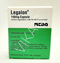 Legalon 140Mg 60 capsules Cleanse Detox Supplement Liver Support - $32.90