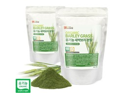 Organic Barley Grass Powder Rich Fiber Vitamin Juice Baking Gluten Free ... - $36.95