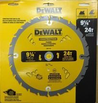 """DEWALT DW3131A 9-1/4"""" x 24 Tooth Crabide Framing Saw Blade  - $23.76"""