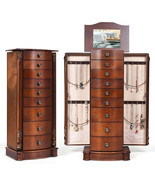 Large Wooden Jewelry Storage Box Organizer  - $252.50