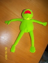plush kermit frog sesame street reptile character green stuffed animal - $24.75