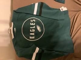 NFL Philadelphia Eagles Women's Long Sleeve Fleece Sweatshirt - M - $24.50