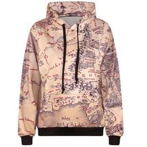 2016 3d sweatshirts men hip hop hooded hoodies funny print maps hoody ca... - $33.89+
