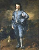 "11 x 14"" canvas art print~ The Blue Boy, by Thomas Gainsborough in 1770.... - $23.99"