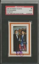 Patrick Roy Brian Hayward 1989 Panini Sticker Dual Autograph SGC Canadiens - $39.15