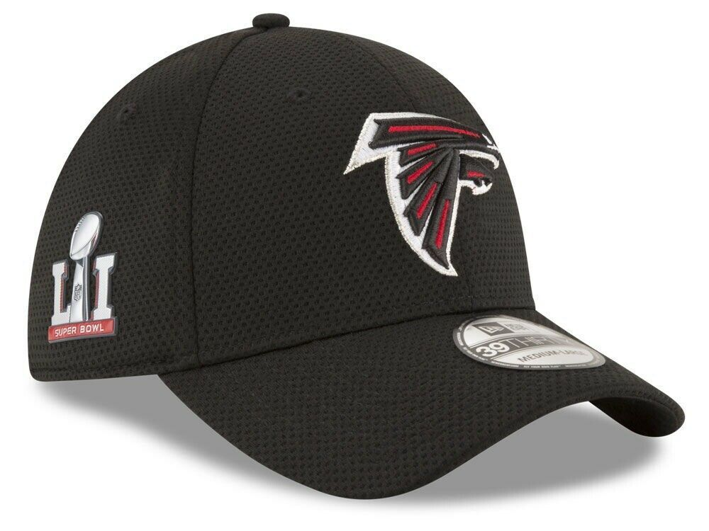 Atlanta Falcons NFL Super Bowl LI 51 Onfield Sideline Tech 39THIRTY Cap S/M - $14.01