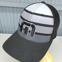 UGP Under Ground Products Black White Magenta Shocks 1 FlexFit Baseball Hat NWT