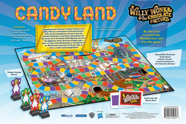 Candy Land Willy Wonka & the Chocolate Factory Limited Edition Board Game Sealed image 6