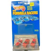 Hot Wheels Mini Formula Racers, 1989 Mattel, Special Edition, 3 Cars, Mint Mib - $19.99