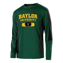 New NCAA Men's Baylor Bears Artillery Crew Sweatshirt Green/Black XL - $25.46