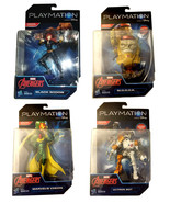 Playmation Avengers New Set of (4) Figures * Vision BLACK WIDOW Ultron B... - $19.88