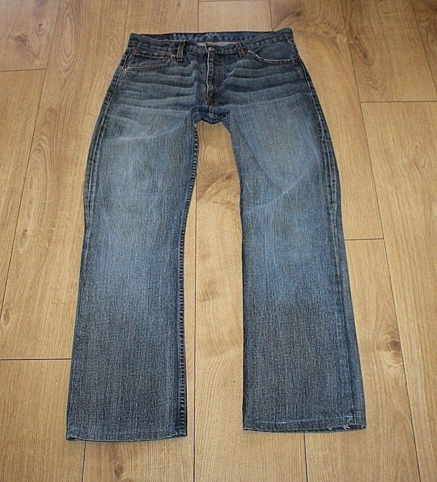 7eee794d Vintage Blue Denim LEVI'S 507 Zip Faded and similar items