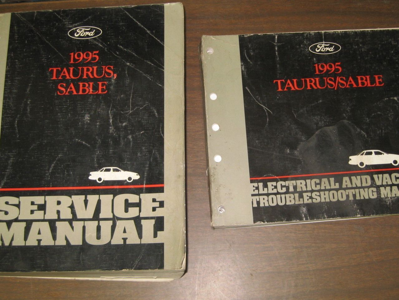 Primary image for 1995 FORD TAURUS & MERCURY SABLE Service Shop Repair Manual Set W EVTM OEM