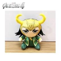 25cm Marvel Avengers 4 Superhero all staff Plush toy Dolls Captain Ameri... - $40.30
