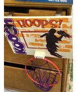 1992 - Koosh Basketball Hoop Over The Door Vintage OddzOn Orange Purple - $23.36