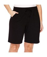 Made for Life French Terry Bermuda Shorts Tall Size XXLT New Williamsbur... - $14.99