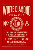 White Diamond Extra Fine Boom Label - Art Print - $19.99+