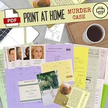 Cold Case Files Detective Case File Game PDF Unsolved Case File INSTANT ... - $15.00