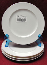 """Set Of Four(4) Rosenthal China - Composition White Pattern - 7 3/4"""" Salad Plates - $39.95"""