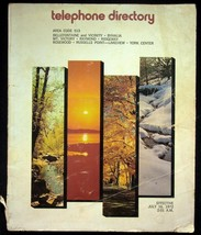 July 16 1972 Bellefontaine Ohio United Telephone Directory With Yellow P... - $18.95