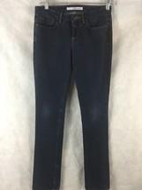 """Joe's Jeans The Cigarette Slim Pencil Leg in Dark Blue  W 25  Inseam 32.5"""" - $31.63"""