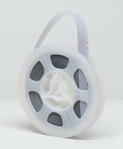 New Kodak Super 8mm Movie Film Leader 50 Ft Reel - WHITE/CLEAR - Made In Usa - $9.25