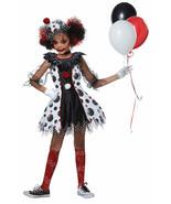 California Costumes Creepy Clown Red Balloon Child Girls Halloween Costu... - $29.95