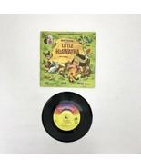 Walt Disney Story Of Little Hiawatha Disneyland Record & Book 1968 - $20.00