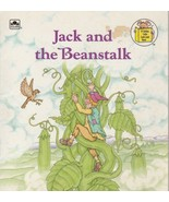 Jack and the Beanstalk by Michael Teitelbaum A Golden Little Look Look B... - $4.94