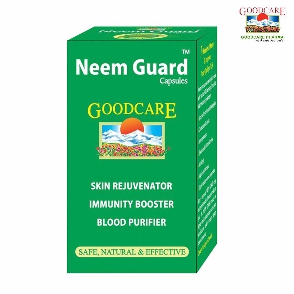 2 x Goodcare Neem Guard (60 Capsules)-Pure and 50 similar items