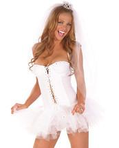 Sexy White Bride Dress woman Costume - $35.00