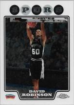 David Robinson Topps Chrome 08-09 #173 San Antonio Spurs - $0.50
