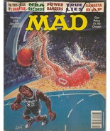 ORIGINAL Vintage Jan 1995 Mad Magazine #333 Shaquille O'Neal Power Rangers - $19.79