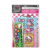 Hello Kitty 11 Piece Stationery Set  School Supplies - NEW - $17.07