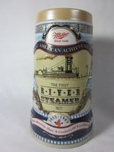 Great American Achievement Miller Brewing Co First River Steamer Beer Mu... - $10.29