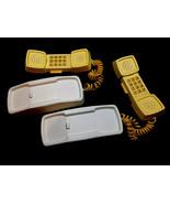 FISHER PRICE VINTAGE PHONE FRIENDS WALKIE TALKIE PLAY PHONES Set of 2 Ve... - $55.00