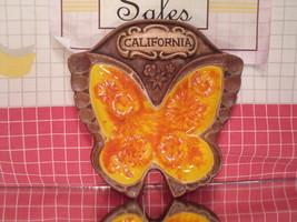 Butterfly Ash Tray - California Souvenir - Treasure Craft California Pot... - $10.80