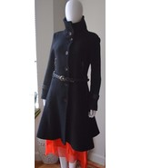 Mackage Coat - Black Women's Military Style Wool Coat Medium but fits SMALL - $250.00
