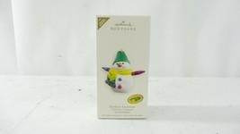 Hallmark QXE9117 Crayola Rainbow Snowman Repaint Ornament - $10.99