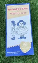 Dakin Raggedy Ann & Bear 85th Anniversary Edition 2000   17415/30000 limited - $49.27