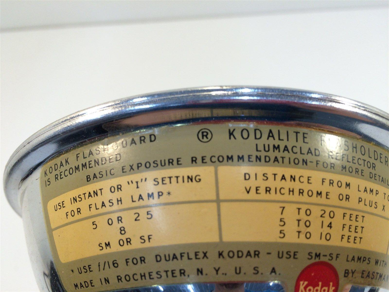 Vintage Kodak Kodalite Flasholder Lumaclad Reflector