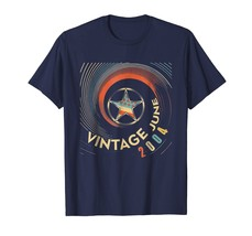 Vintage Born In June 2004 Gift 14 Years Of Being Awesome Tee - $17.99+