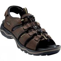 Keen Rialto Open Toe Men's Sandals Dark Earth / Black Shoes Sz 11.5 M **New** - $81.22
