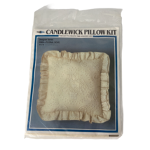 Candlewick Pillow Kit Designer Series DS04- Floral Dove Design 14 X14 - $12.99