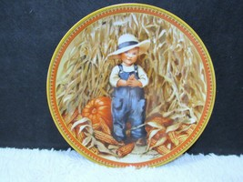 """1986 Edwin Knowles Limited Edition """"Thanksgiving"""" 8.5"""" Collectible Plate #3627 - $9.95"""