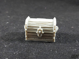 Treasure Chest - miniature furniture for Tabletop Gaming (DnD/Pathfinder... - $0.99