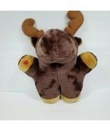 "Plush Moose Cough Buddy Teddy Tech 13 X 15"" Stuffed Toy Cough Aid Post S... - $32.66"