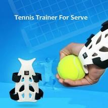 Tennis Ball Machine Training Tool Practice Serve Trainer Correct Wrist P... - $28.54
